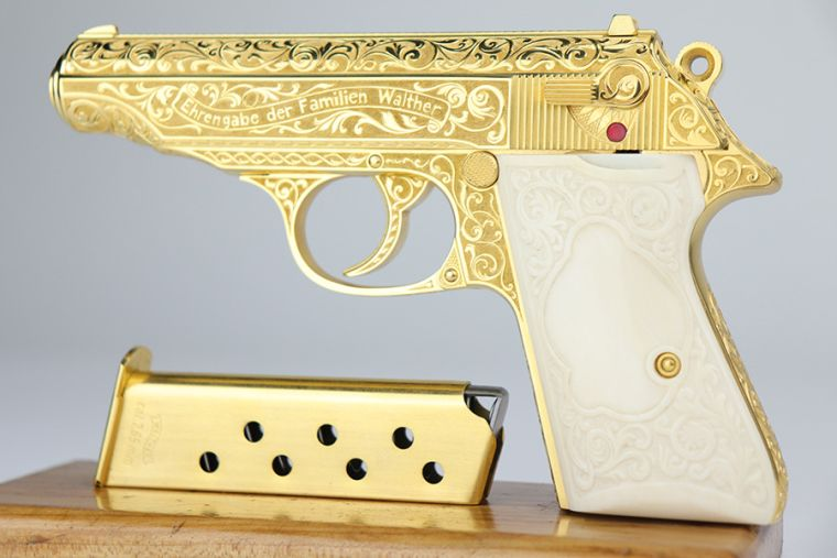 Very Rare Engraved Presentation Walther PP