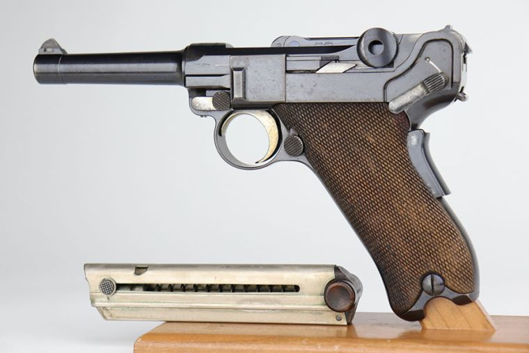 Ultra Rare 1902 American Eagle Luger - Fat Barrel