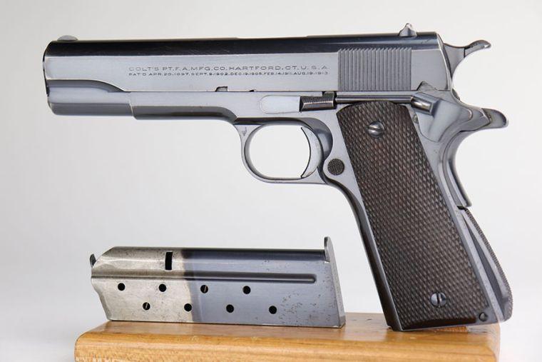 Rare, Early Colt Super .38 Auto