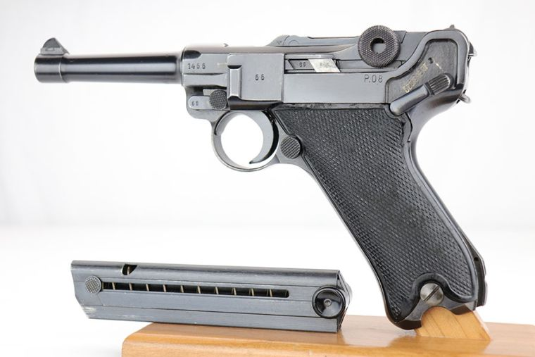 ON HOLD - Beautiful Black Widow Mauser Luger