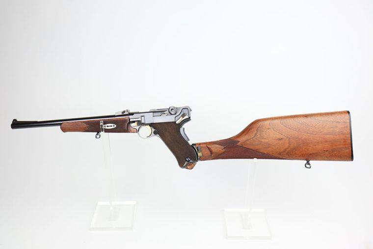 Rare, Minty DWM Model 1902 Luger Carbine Rig - Matching Stock