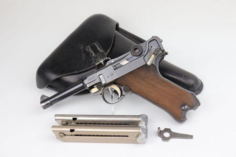 Rare, Complete Simson Luger Rig