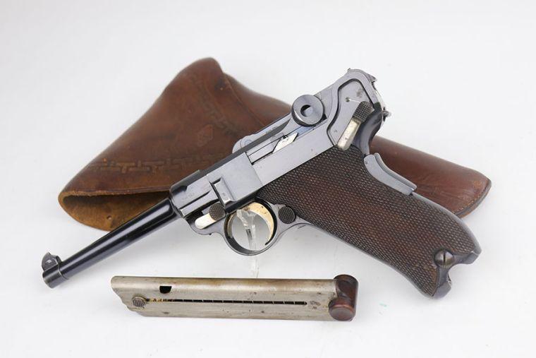 Scarce 1900 DWM Commercial Luger