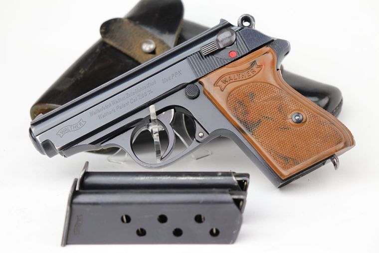HOLD -  Rare SS Contract Walther PPK Rig - K Under