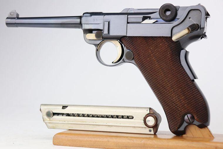 Ultra Rare Swiss 1906 DWM Luger - E-Prefix