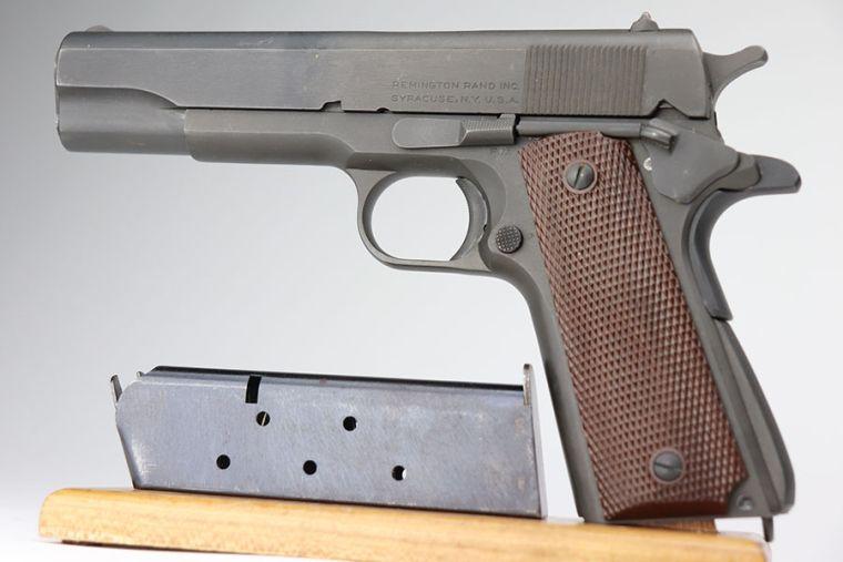 Mint, Documented Remington 1911A1 - 2nd Var