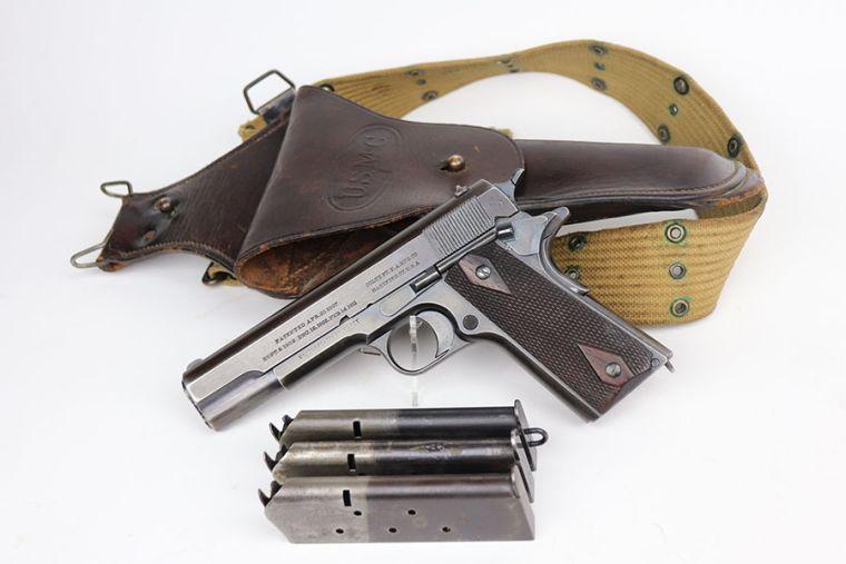 Rare USMC Colt 1911 Rig - 1913 Mfg