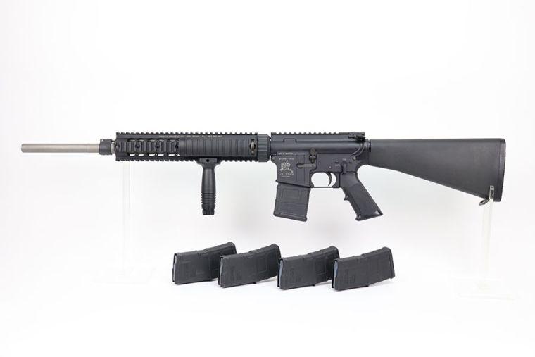 Rare Knight's Armament Stoner SR-15 Match Rifle With M4 Sniper R.A.S