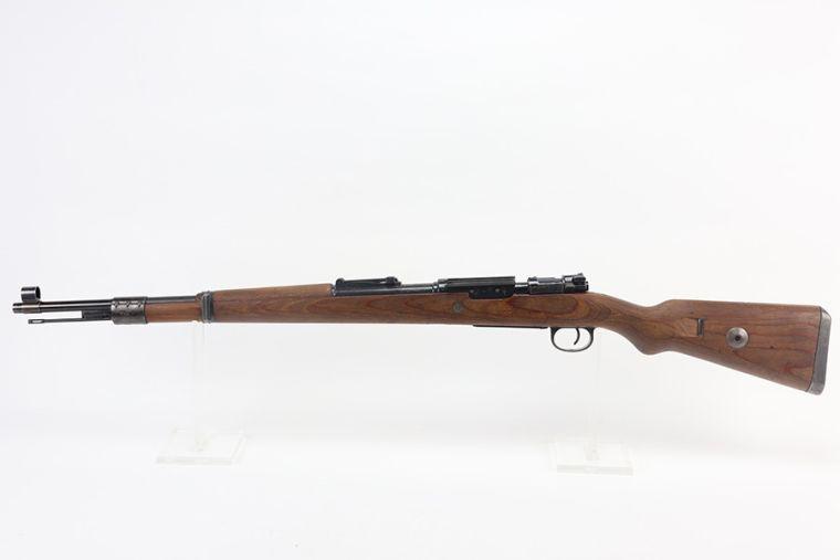 Rare Nazi Sauer K98 - Long Side Rail Sniper