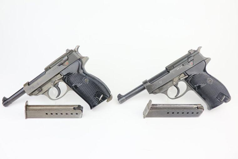 Ultra Rare Police Mauser P.38s - Consecutive Serials
