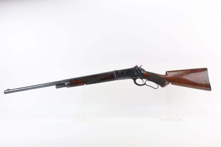 Rare, Beautiful Winchester Model 1886 Deluxe Short Rifle