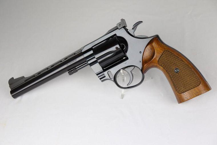 Rare, Minty West German Korth Revolver