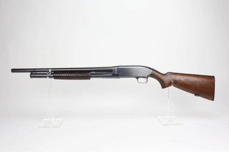 Excellent WW2 Winchester Model 12 Riot Shotgun