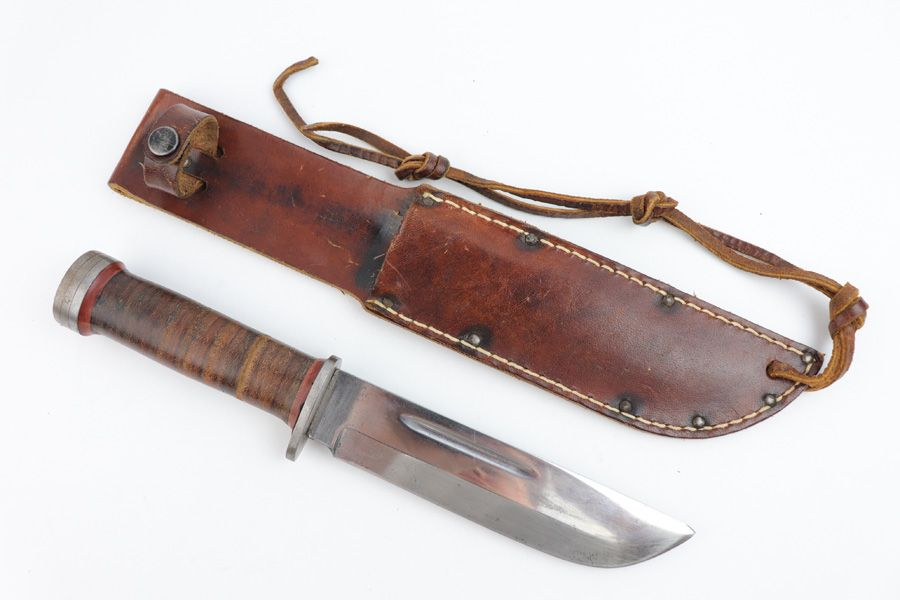 Early WW2 Cattaraugus 225Q Knife   Legacy Collectibles