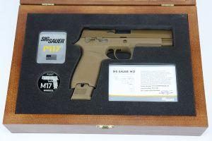 Boxed, Cased Sig Sauer P320 M17 Commemorative