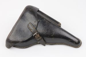 RARE Pigskin Luger Holster - Repaired