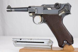Rare 1937 Krieghoff Luger - Matching Magazine