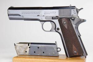 Beautiful, Rare Colt Government Model 1911 - British Eley, .455