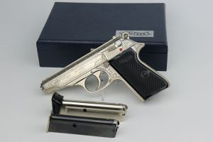 Engraved Walther PP - Presentation Case