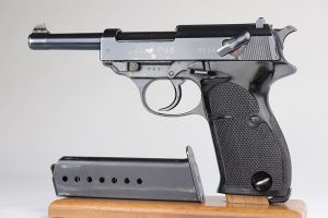 Rare, Early Walther P.38 - 1st Variation Zero Series