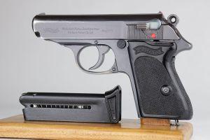 Rare Reichsbank Walther PPK - Matching Magazine