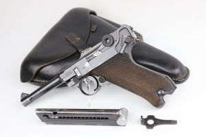 Rare 1938 Navy Mauser Luger Rig