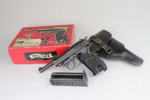 ON HOLD - Boxed Walther P.38 Rig - 1961 Mfg