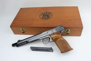 Mint, Cased Smith & Wesson Model 41