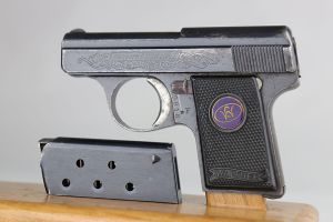 Engraved Walther Model 9