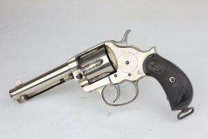 Nickel Colt Model 1878 - 1881 Mfg