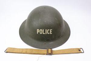 WW1 Era Police Brodie Helmet