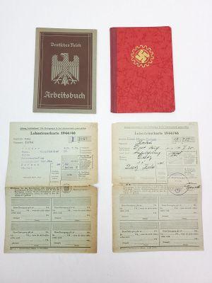 Nazi German RAD / Arbeitsbuch Booklets