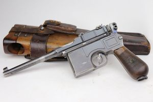 Mauser C96 Rig - Matching Stock