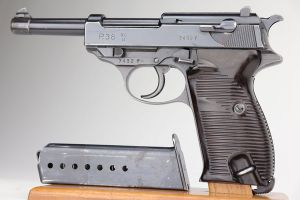 Terrific 1941 Walther P.38 - Matching Magazine