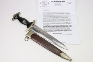 RARE SA Marine Dagger with Document