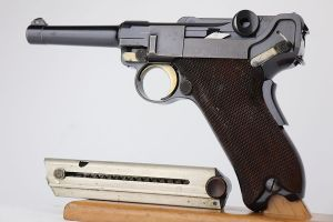 Ultra Rare 1902 American Eagle Fat Barrel Luger