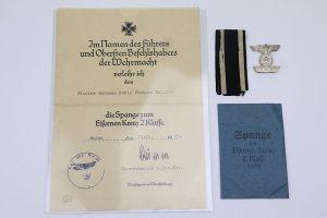 1939 Pioneer Battalion Award Document