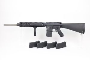 Rare Knight's Armament Stoner SR-15 Match Rifle With M4 Sniper R.A.S