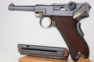 Rare Bulgarian DWM Model 1906 Luger