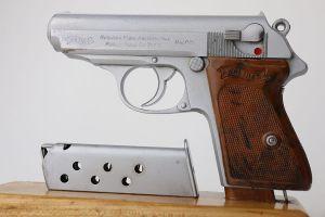 Rare Walther PPK - Verchromt Finish