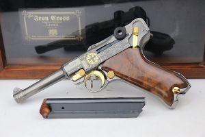 Custom Engraved DWM Luger - Iron Cross Limited Edition