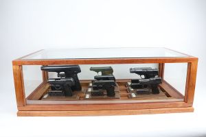 Rare, Complete Walther Pistol Models 1-9 Grouping