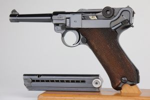 Scarce, Excellent 1940 Police Mauser Luger