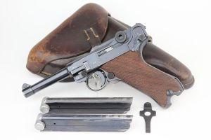 Excellent 1939 Mauser Luger Rig