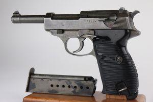 Rare All-Phosphate 1944 Mauser P.38 - BYF 44
