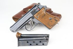 Excellent Commercial Walther PPK Rig - 1936 Mfg