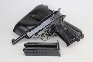 Scarce 1941 Nazi Walther P.38 Rig - Two Matching Magazines