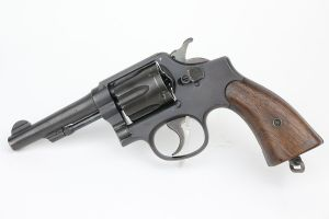 Excellent Smith & Wesson Victory Revolver - Maritime Commission