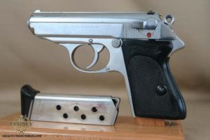 SOLD - Factory Chrome Walther PPK - Rare!