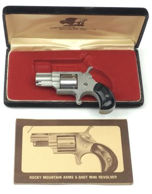 Rocky Mountain Arms .22 Cal Mini Revolver